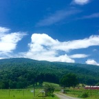 My love of the mountain views in Crozet, Virginia